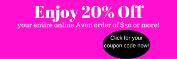 avon, coupon code